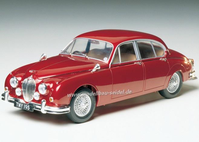 Modellbau Jaguar ~ Tamiya 89653 jaguar mk.ii saloon 1960 1 24 modellbau seidel
